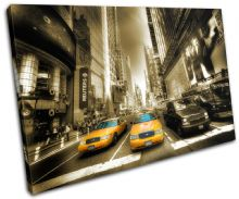 New York Yellow Taxi Cab City - 13-1806(00B)-SG32-LO